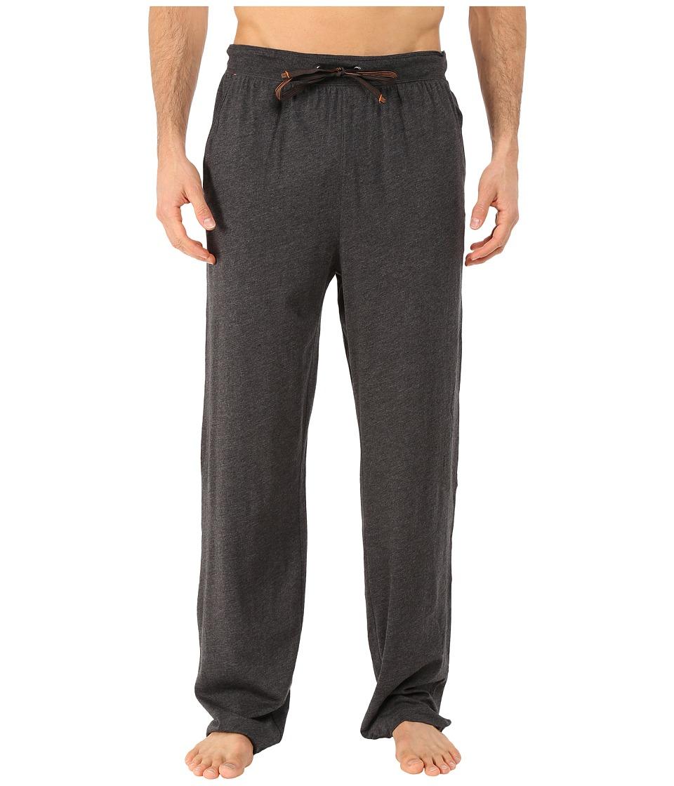 Tommy Bahama - Heather Cotton Modal Jersey Lounge Pants (Black Heather) Men's Pajama