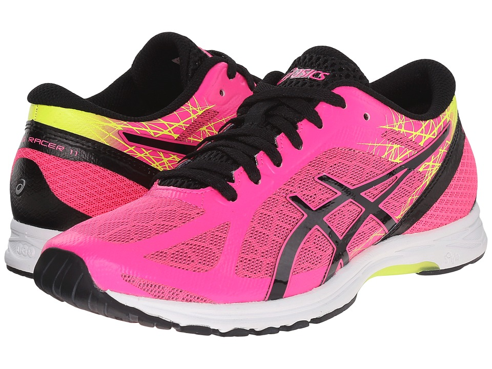 ASICS - GEL-DS Racer(r) 11 (Hot Pink/Black/Flash Yellow) Women's Running Shoes