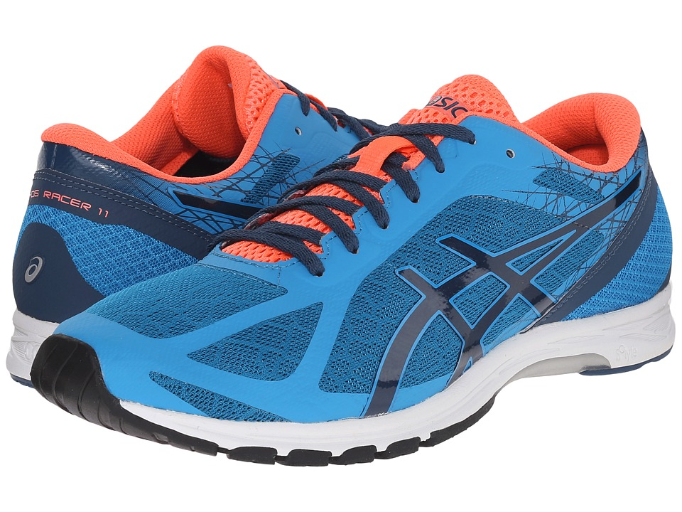ASICS - GEL-DS Racer 11 (Methyl Blue/Ink/Flash Coral) Men's Running Shoes