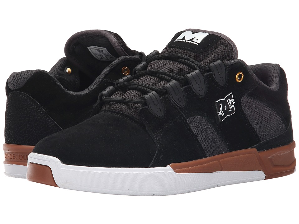 DC - Maddo (Black/Gum) Men's Skate Shoes