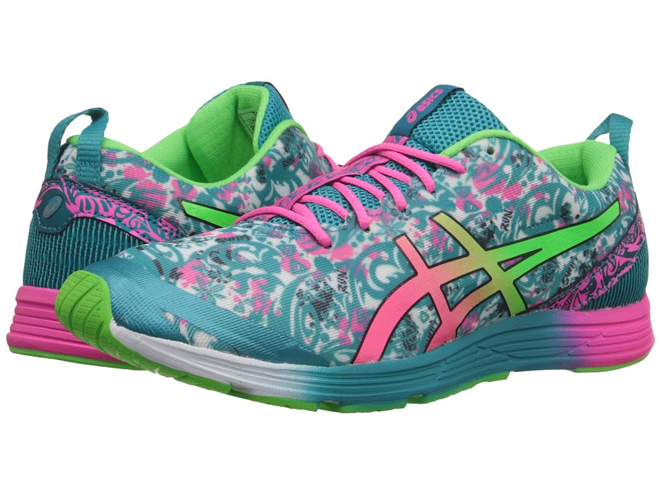 ASICS - GEL-Hyper Tri 2 (Tile Blue/Hot pink/Green Gecko) Women's Running Shoes