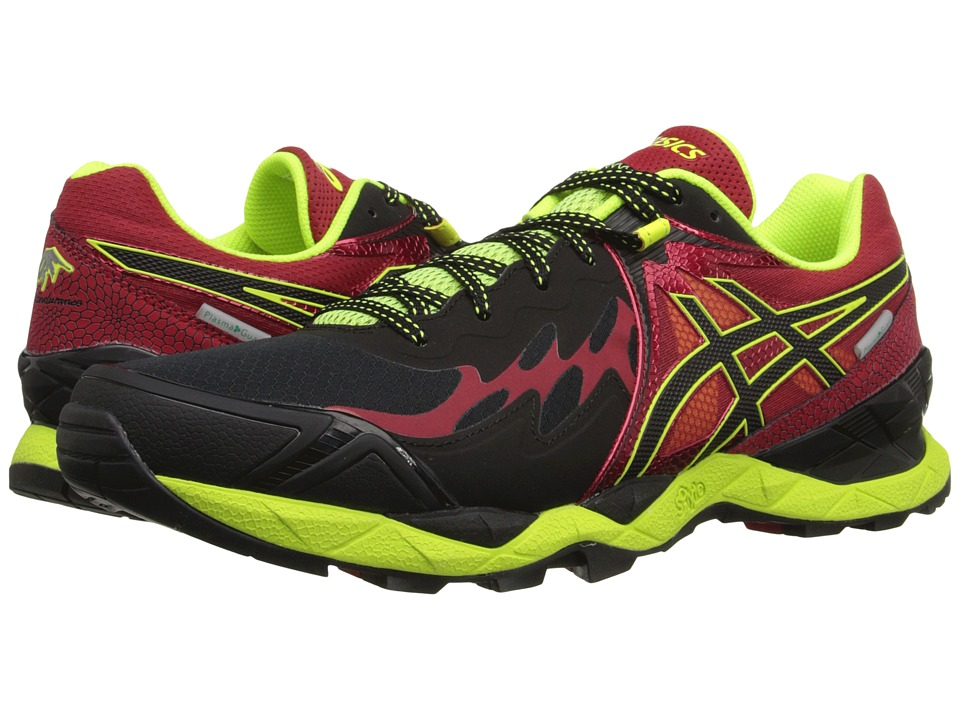 ASICS - GEL-FujiEndurance (Black/Onyx/Racing Red) Men's Running Shoes