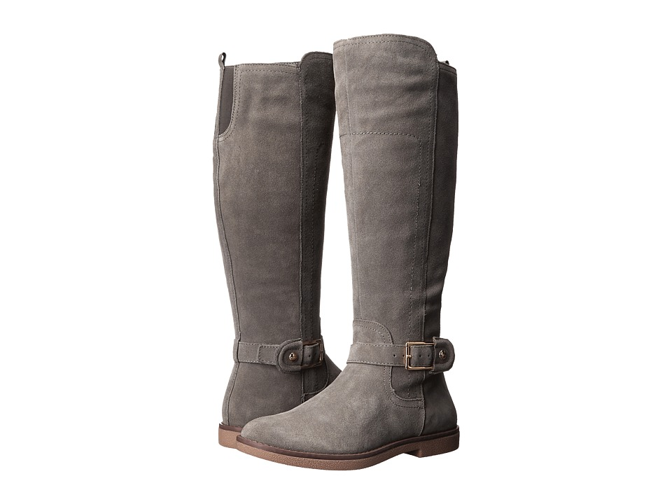 Tommy Hilfiger - Nelly (Grey Suede) Women's Zip Boots
