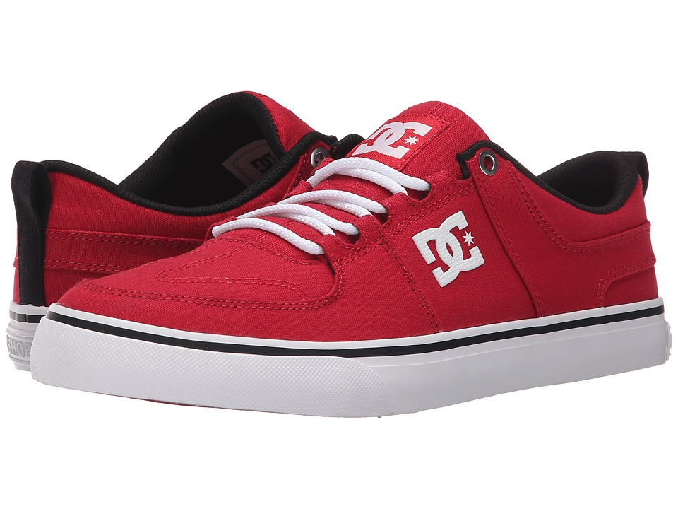 DC - Lynx Vulc TX (Red) Skate Shoes