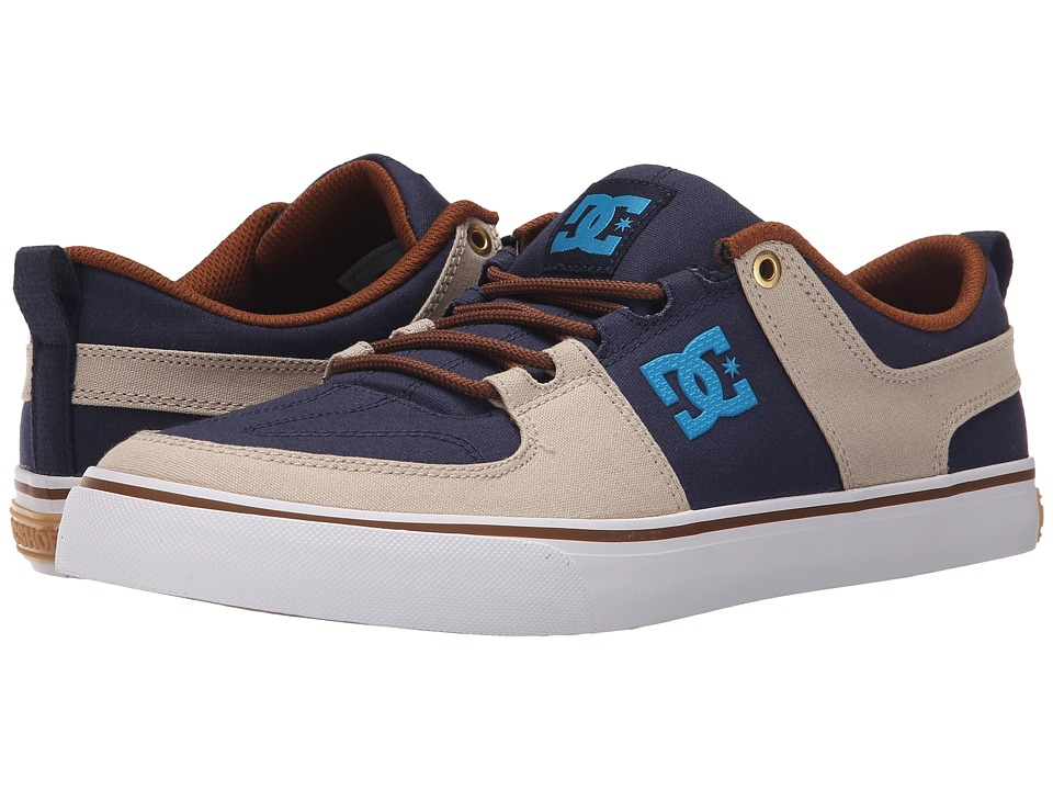 DC - Lynx Vulc TX (Navy/Khaki) Skate Shoes