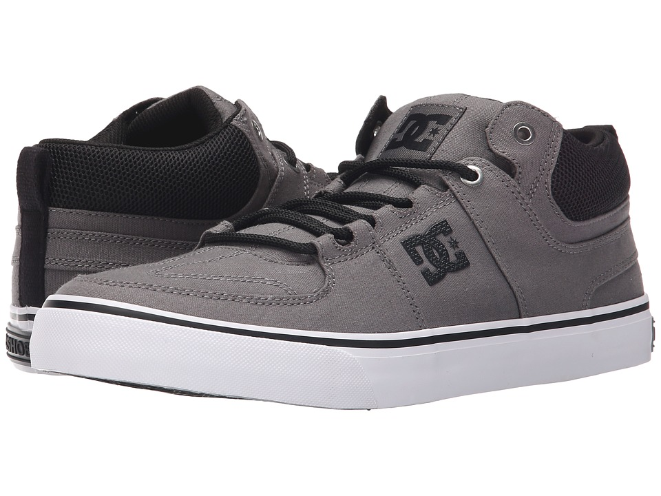 DC - Lynx Vulc Mid TX (Grey/Black) Skate Shoes