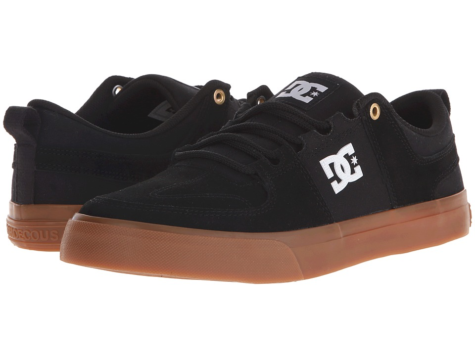 DC - Lynx Vulc (Black/Gum) Skate Shoes