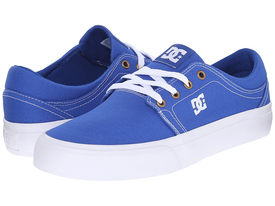 DC - Trase TX (Blue/White) Skate Shoes