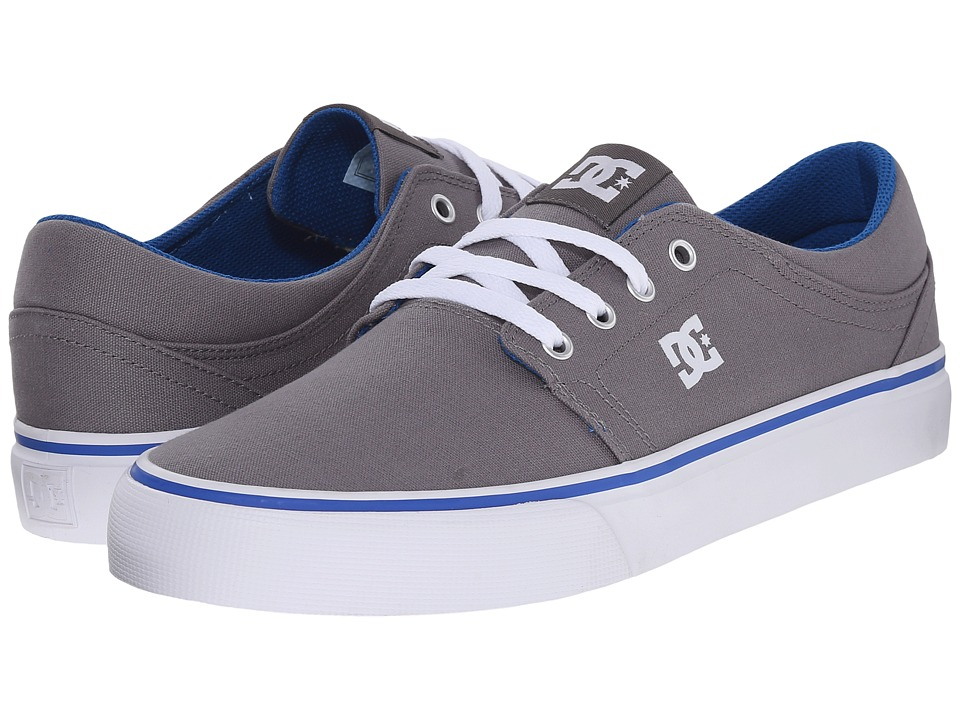 DC - Trase TX (Grey/Blue) Skate Shoes