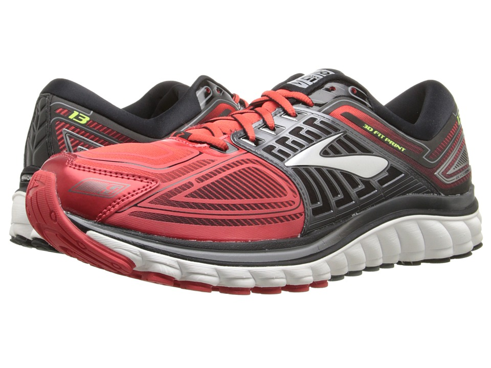 Brooks Glycerin 13 (High Risk Red/Black/Nightlife) Men