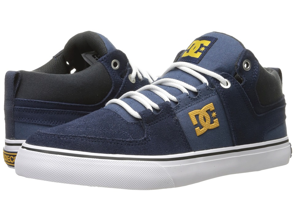 DC - Lynx Vulc Mid (Navy/Black) Skate Shoes
