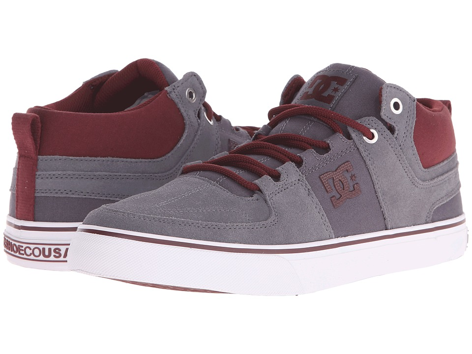 DC - Lynx Vulc Mid (Grey/White) Skate Shoes