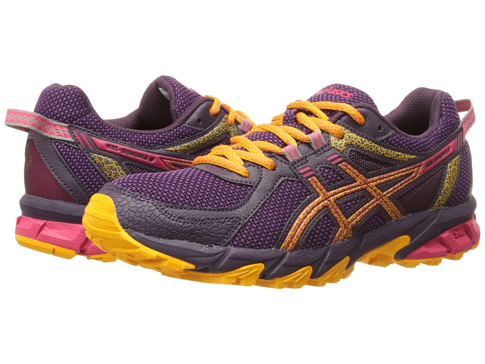 ASICS - GEL-Sonoma 2 (Purple/Azalea/Apricot) Women's Running Shoes