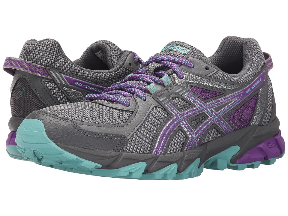 ASICS - GEL-Sonoma 2 (Taupe/Orchid/Pool Blue) Women's Running Shoes