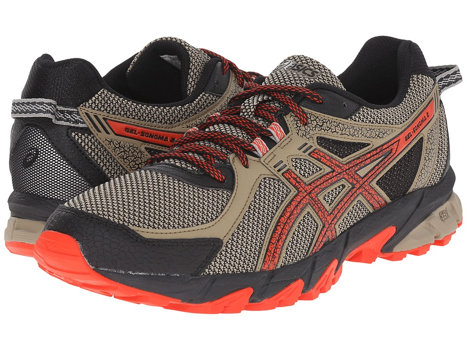 ASICS - GEL-Sonoma 2 (Bark/Orange/Black) Men's Running Shoes