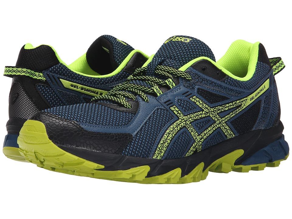 ASICS - GEL-Sonoma 2 (Mediterranean/Flash Yellow/Black) Men's Running Shoes