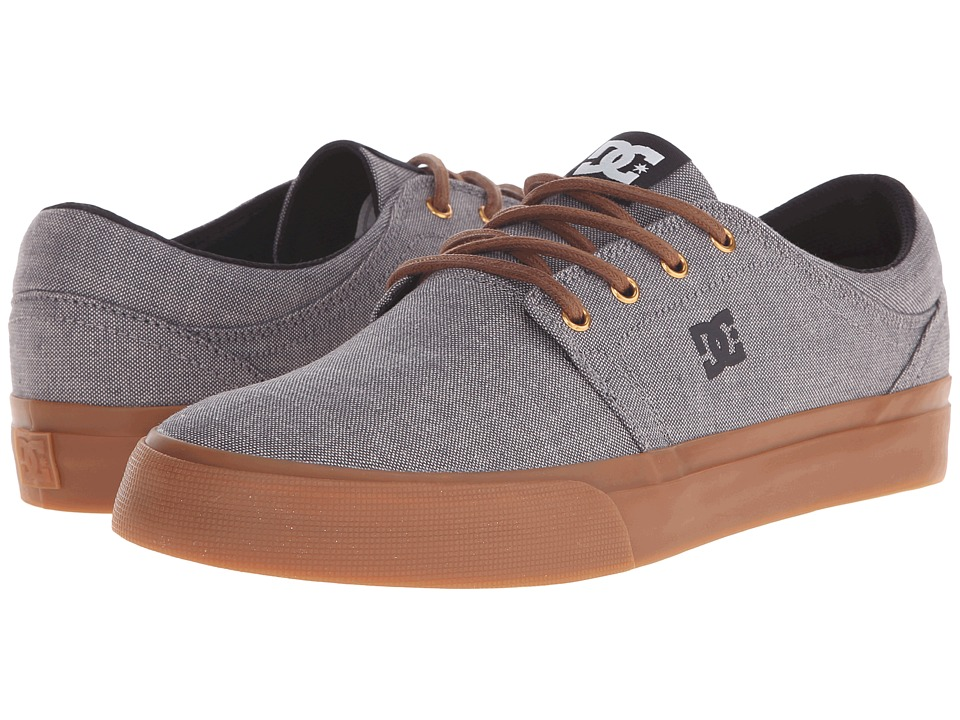 DC - Trase TX SE (Grey Ash) Skate Shoes