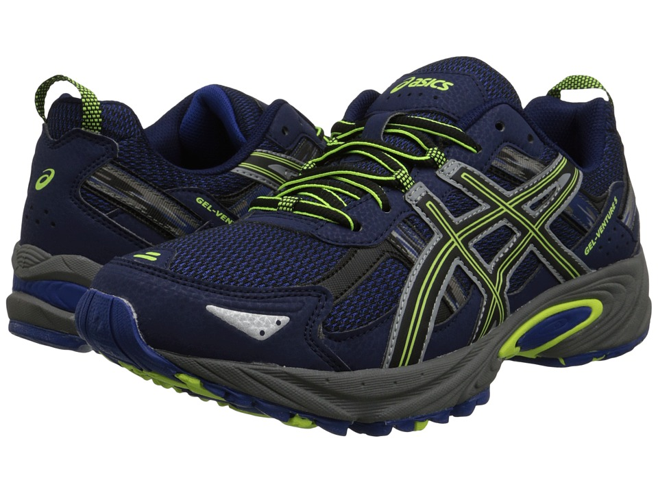 ASICS - Gel-Venture 5 (Indigo Blue/Black/Flash Yellow) Men's Running Shoes