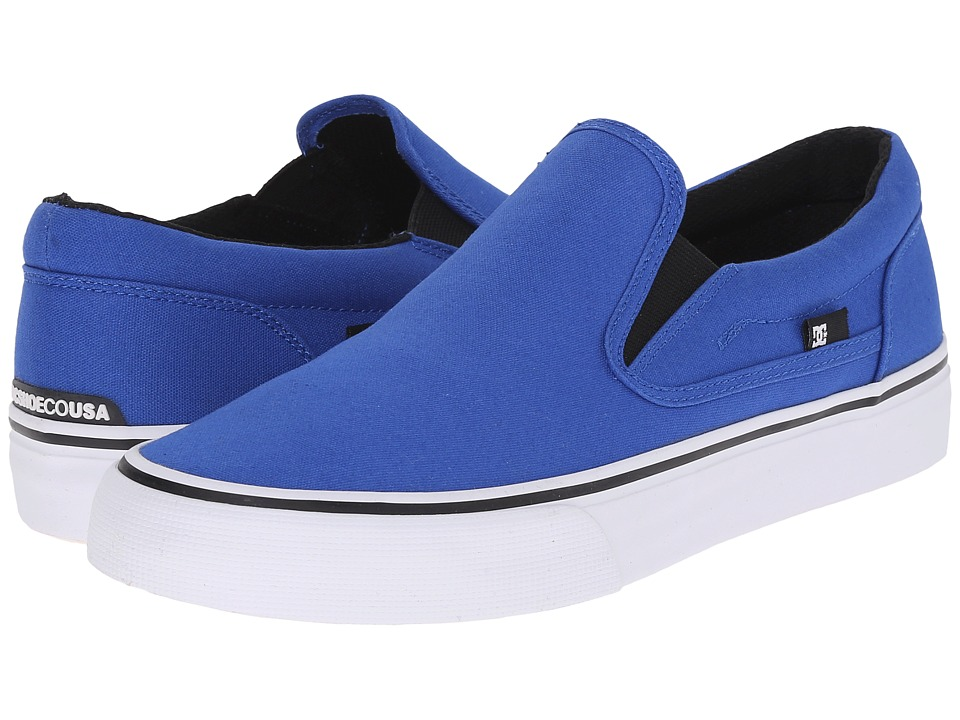 DC - Trase Slip-On TX (Blue) Skate Shoes