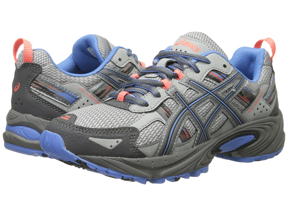ASICS - Gel-Venture(r) 5 (Silver Grey/Carbon/Dutch Blue) Women's Running Shoes