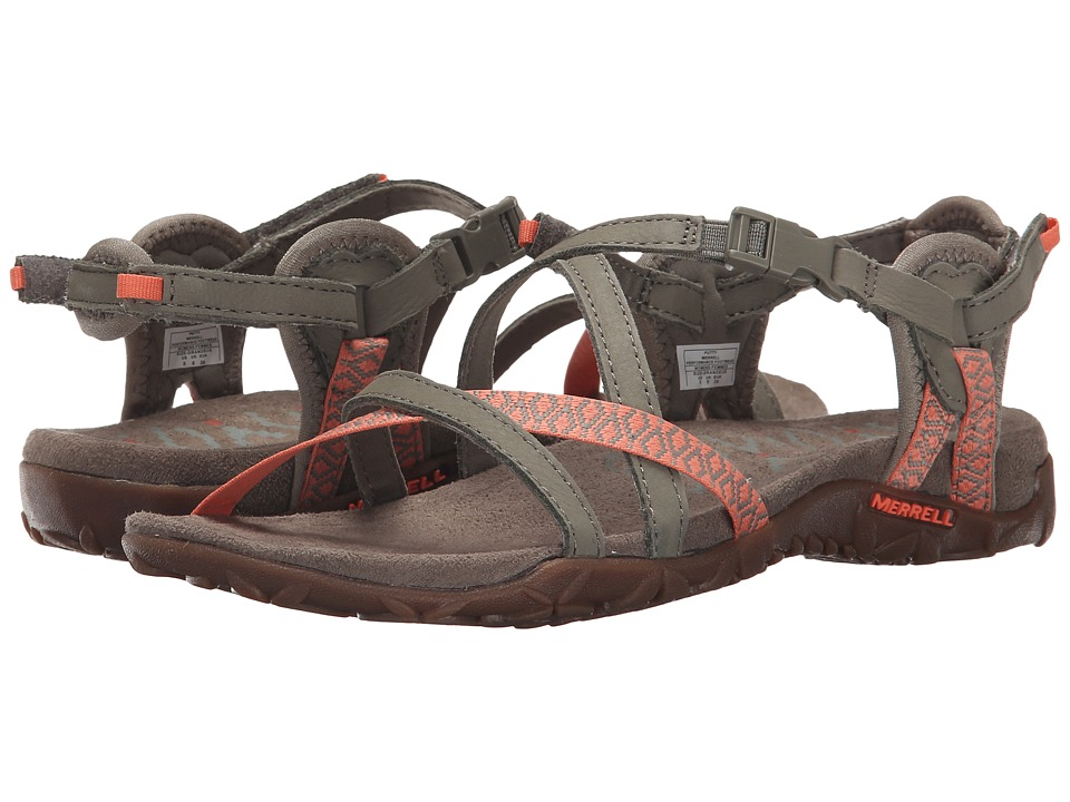 Merrell - Terran Lattice II (Putty) Women's Shoes