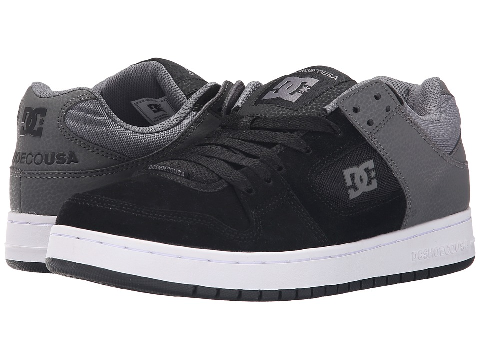 DC Manteca (Black/Grey) Men