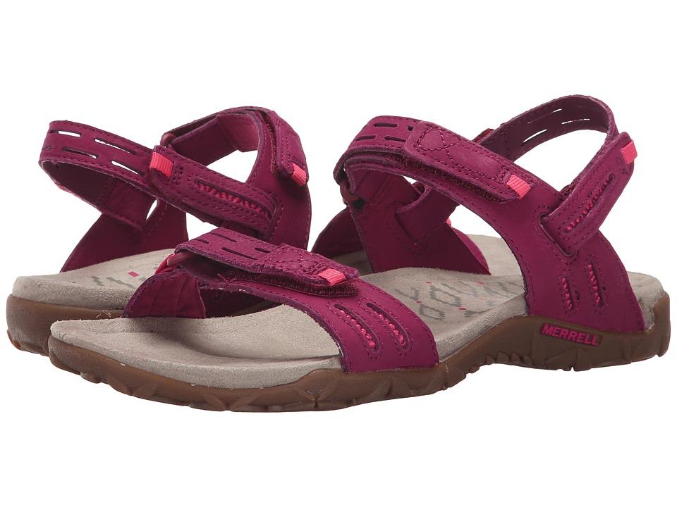 Merrell - Terran Strap II (Fuchsia) Women's Shoes