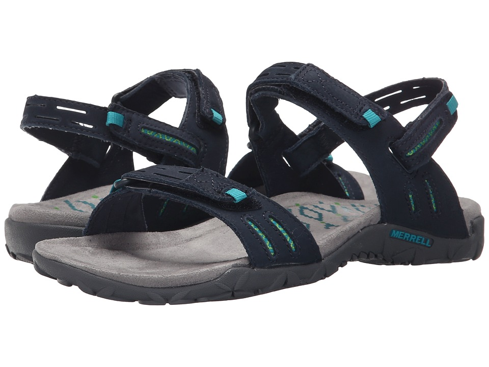 Merrell - Terran Strap II (Navy) Women's Shoes