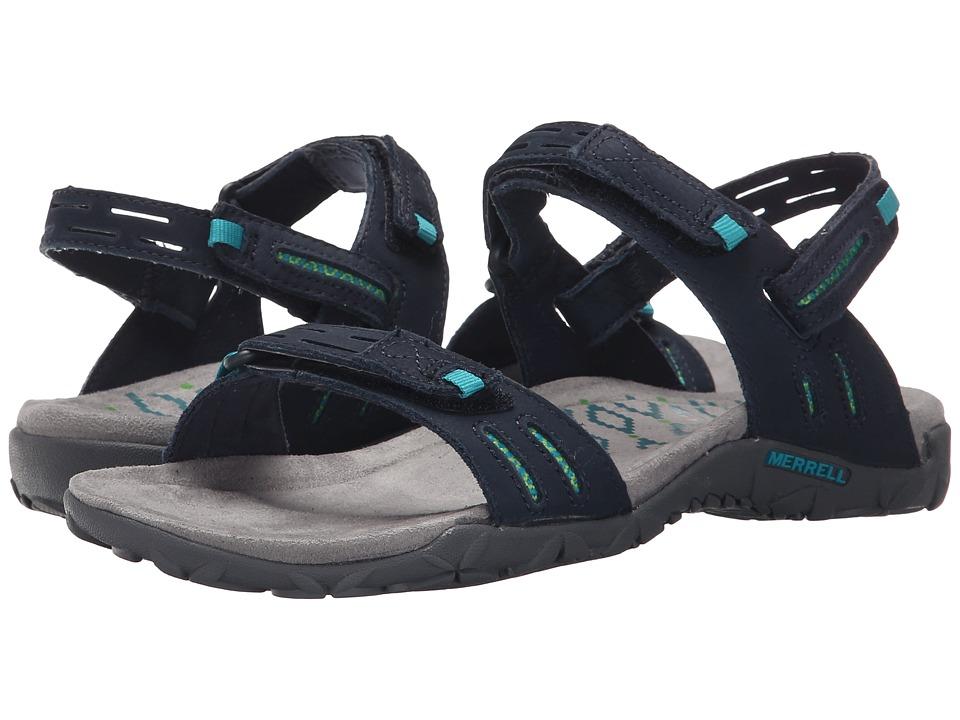 Merrell - Terran Strap II (Navy) Women's Shoes