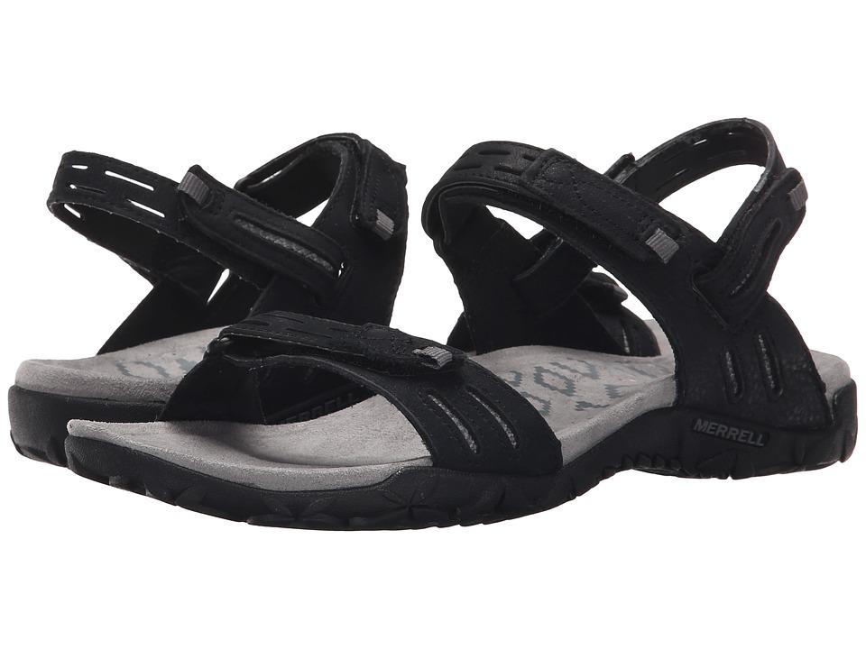Merrell - Terran Strap II (Black) Women's Shoes