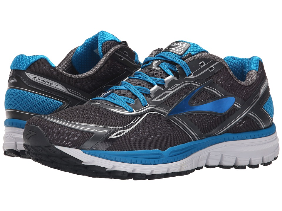 Brooks - Ghost 8 (Anthracite/Methyl Blue/Whiter) Men's Running Shoes