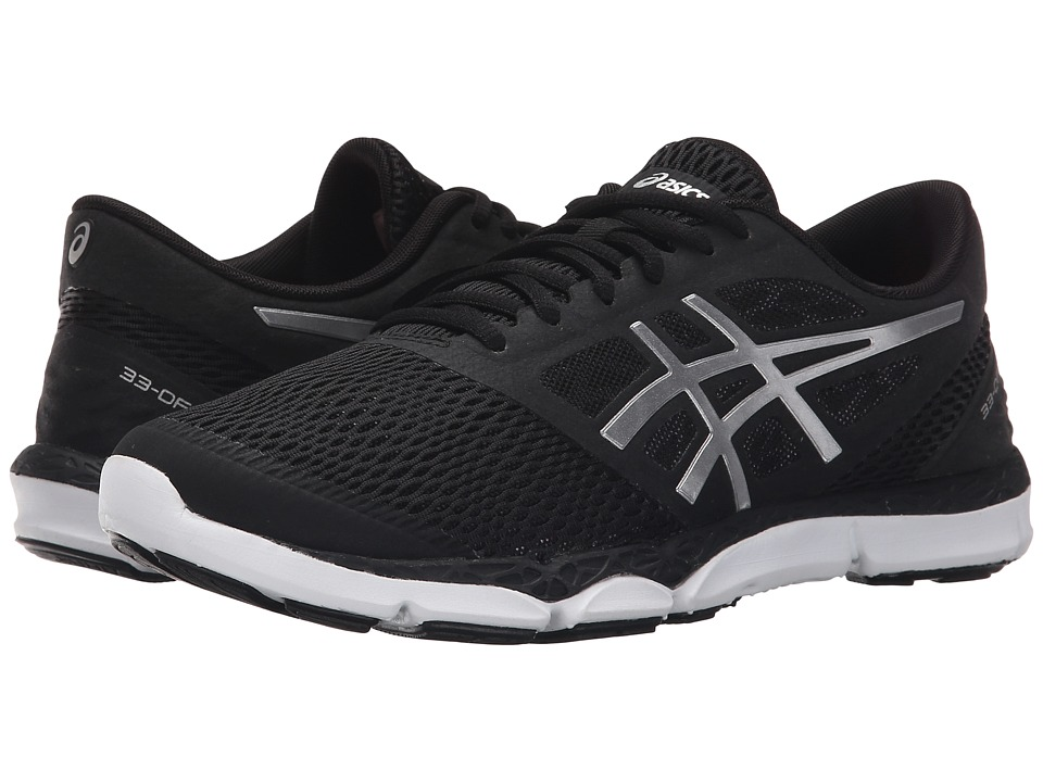 ASICS - 33-DFA 2 (Black/Silver/Onyx) Women's Running Shoes