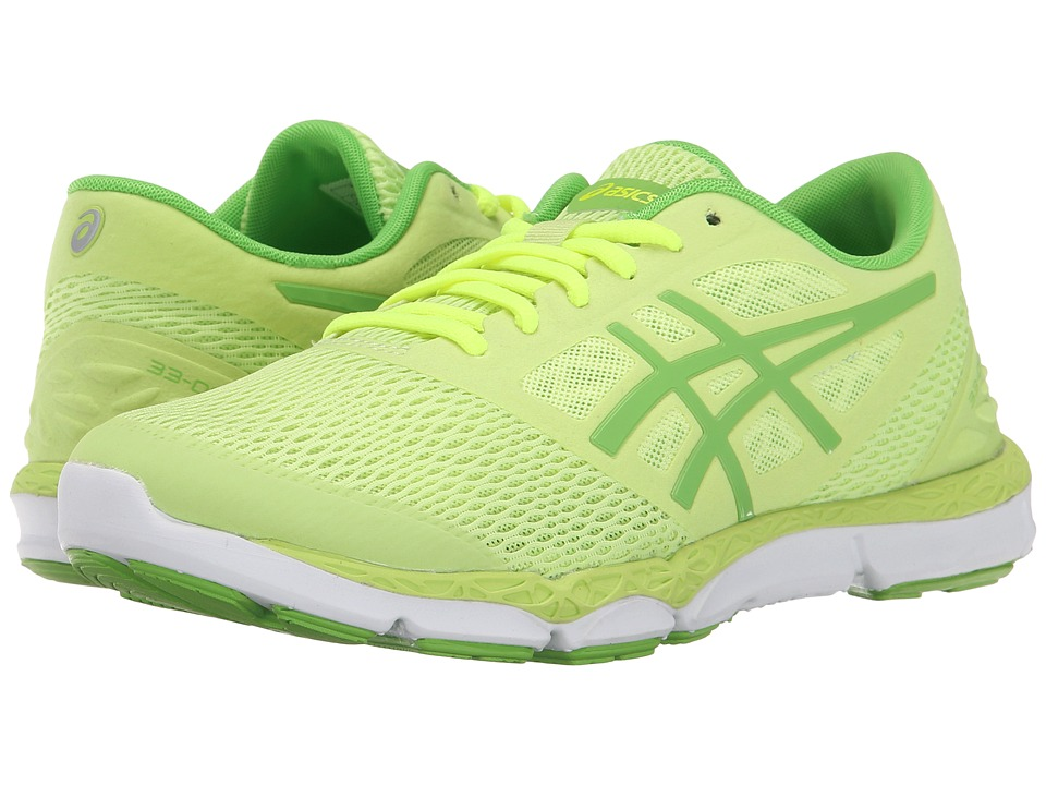 ASICS - 33-DFA 2 (Sharp Green/Jasmine Green/Flash Yellow) Women's Running Shoes