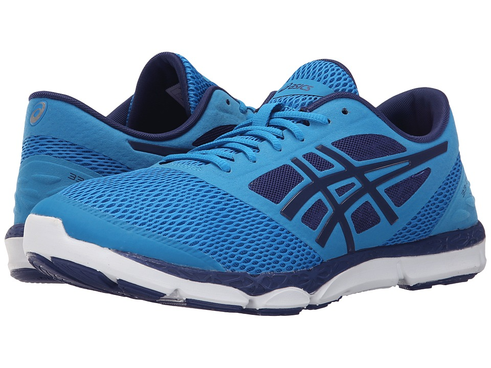 ASICS - 33-DFA 2 (Methyl Blue/White/Deep Cobalt) Men's Running Shoes