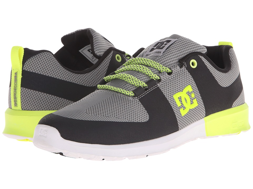 DC - Lynx Lite R (Grey/Yellow) Skate Shoes