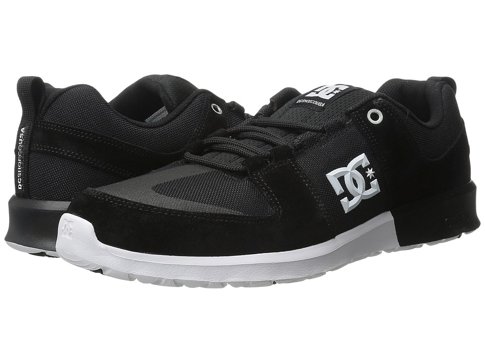 DC - Lynx Lite (Black/Black/White) Skate Shoes