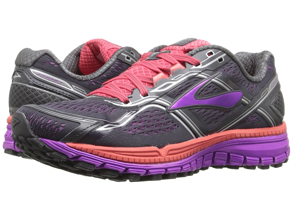 88e48974f9d ... Women s Neutral Running ANTHRACITE PURP DUB UPC 762052942720 product  image for Brooks - Ghost 8 (Anthracite Purple Cactus Flower
