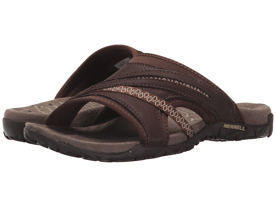 Merrell - Terran Slide II (Dark Earth) Women's Shoes