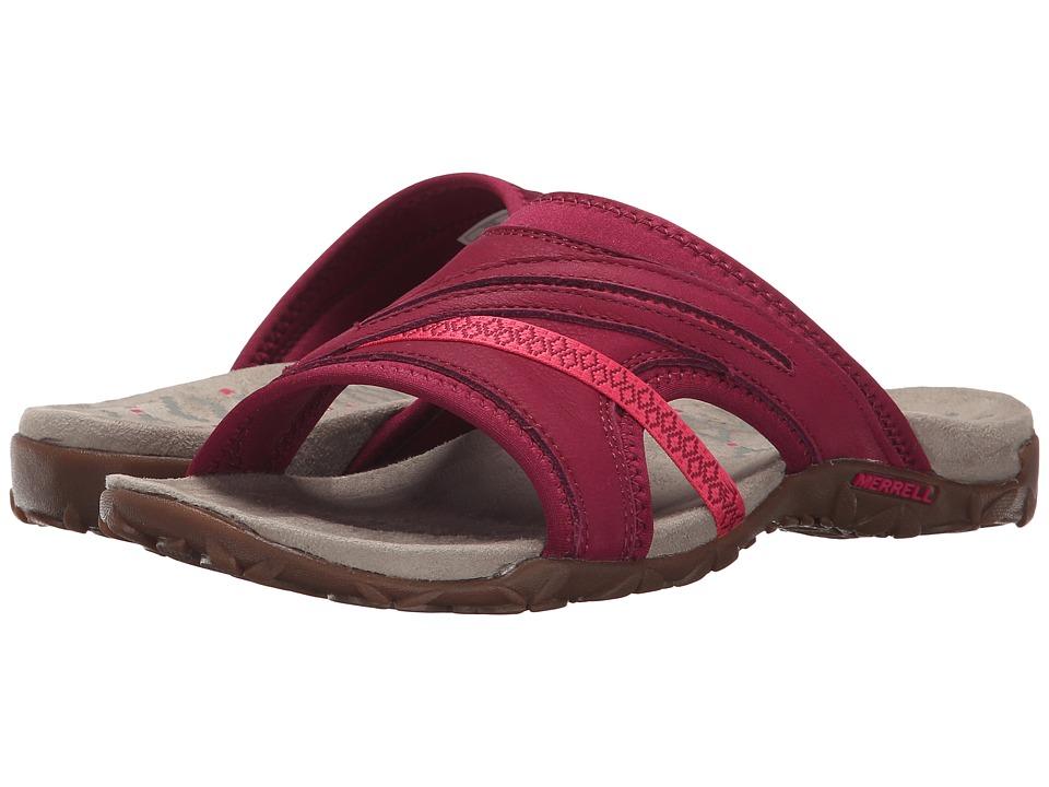 Merrell - Terran Slide II (Fuchsia) Women's Shoes