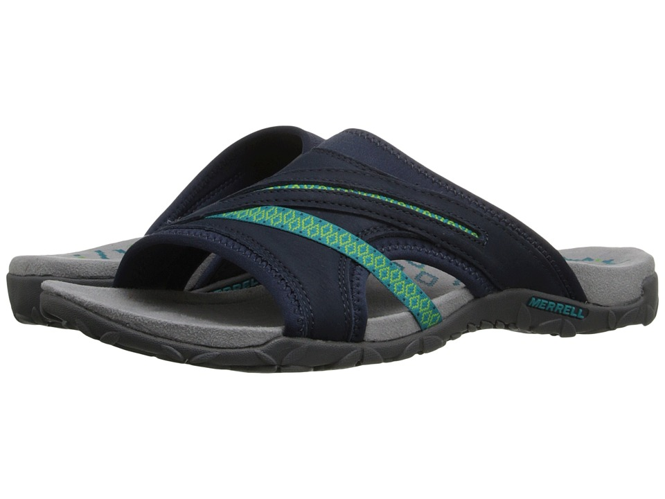 Merrell - Terran Slide II (Navy) Women's Shoes