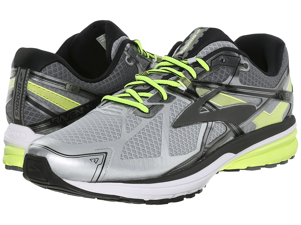 Brooks Ravenna 7 (Silver/Nightlife/Black) Men