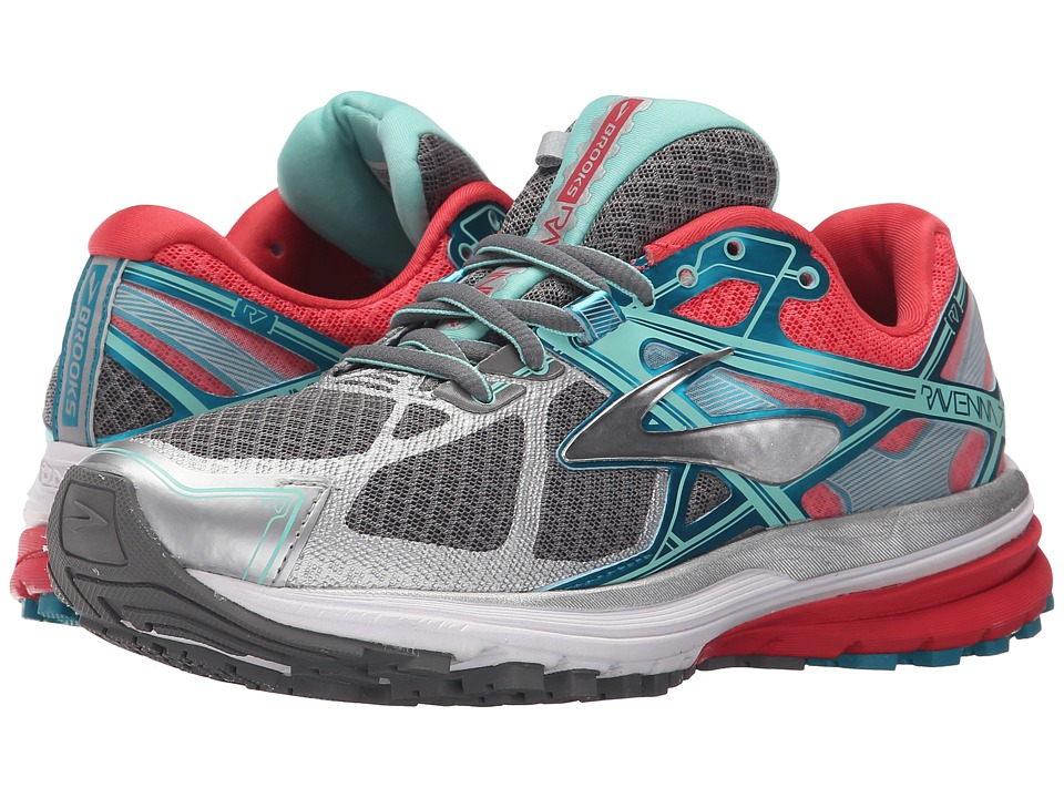 Brooks Ravenna 7 (Smoked Pearl/Paradise Pink/Capri Breeze) Women