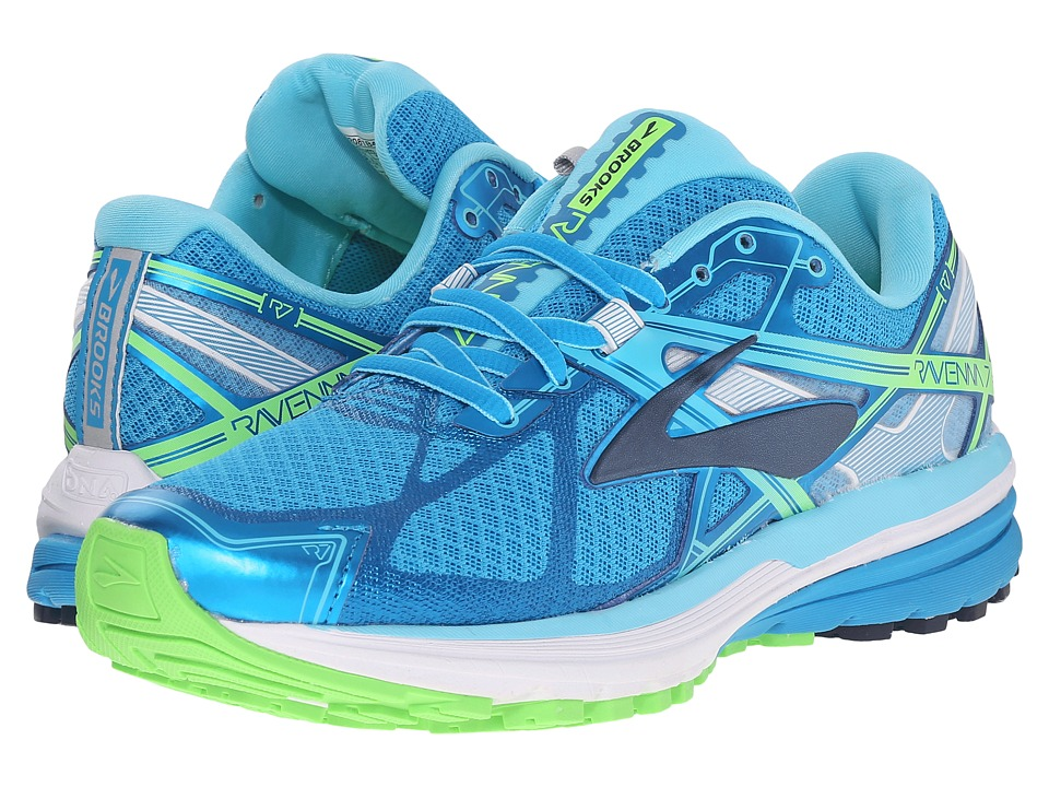 BROOKS Ravenna 7 (Hawaiian Ocean/Peacoat/Green Gecko) Wom...