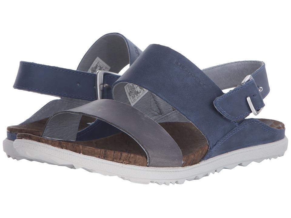 Merrell - Around Town Backstrap (Blue) Women's Shoes