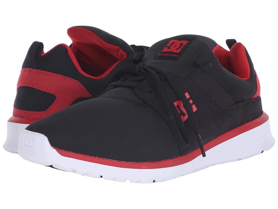 DC - Heathrow (Black/Red) Skate Shoes