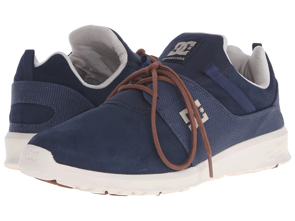DC - Heathrow SE (Navy/Dark Chocolate) Skate Shoes