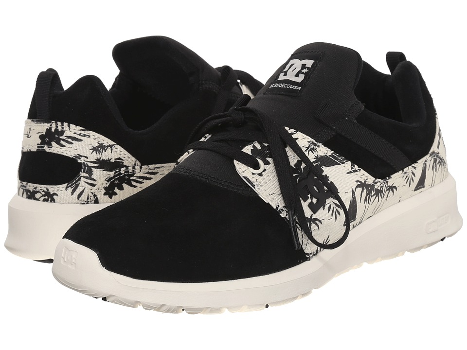 DC - Heathrow SE (Black/White Print) Skate Shoes