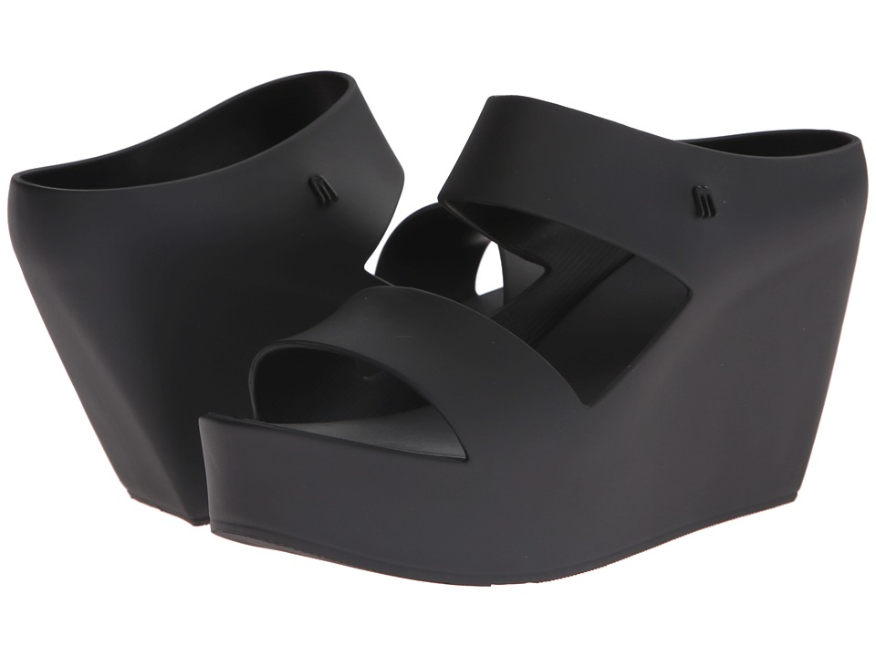 Melissa Shoes - Creative (Black) Women's Wedge Shoes