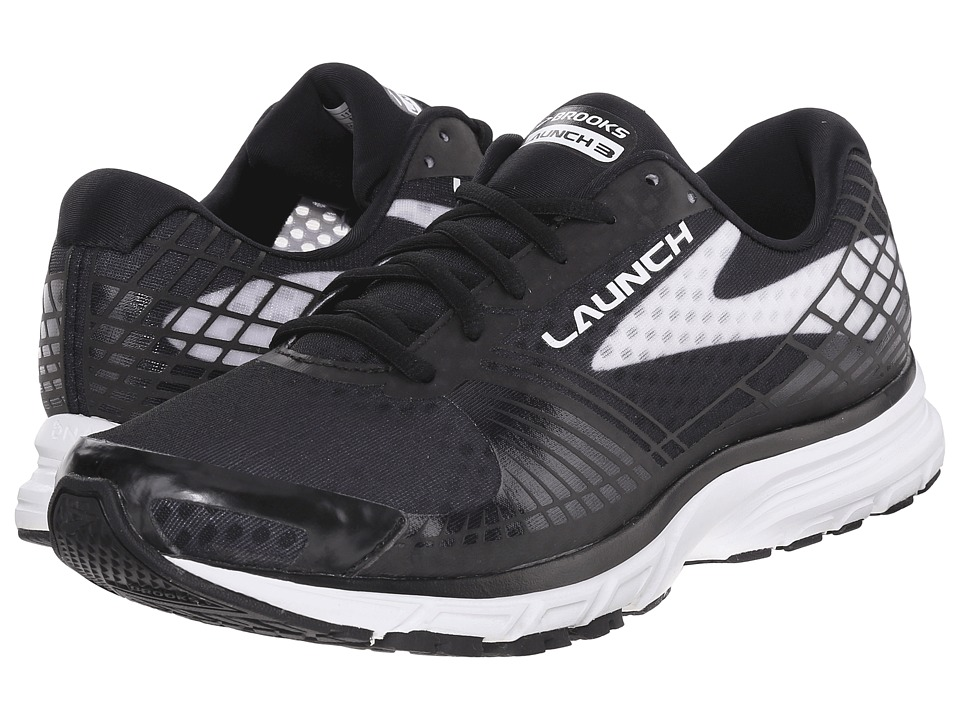 Brooks Launch 3 (Black/White) Men