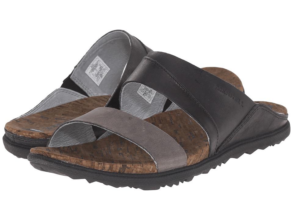 Merrell - Around Town Slide (Black) Women's Shoes
